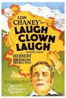 Laugh, Clown, Laugh on-line gratuito