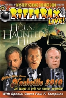 Ver película RiffTrax Live: House on Haunted Hill