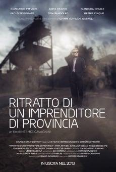 Ver película Ritratto di un imprenditore di provincia