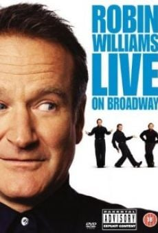 Película: Robin Williams: Live on Broadway