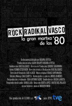 Ver película Rock radikal vasco: La gran martxa de los 80
