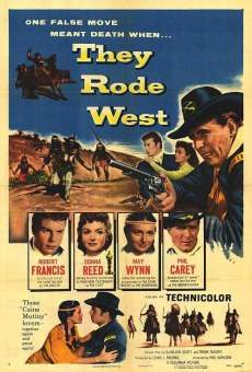They Rode West on-line gratuito