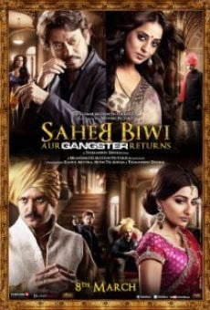 Saheb Biwi Aur Gangster Returns on-line gratuito