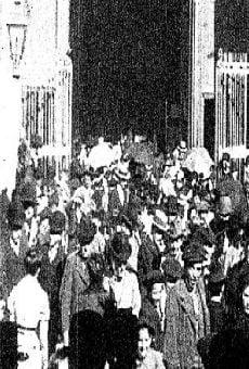 Ver película Salida de misa de doce del Pilar de Zaragoza