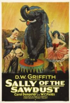 Sally of the Sawdust on-line gratuito