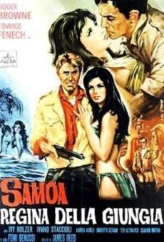 Samoa, fille sauvage