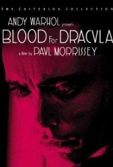 Ver película Sangre para Drácula