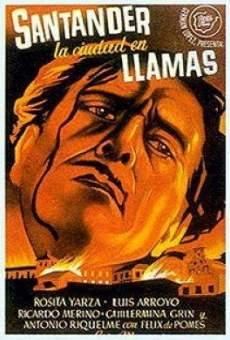Santander, la ciudad en llamas on-line gratuito