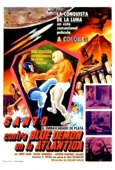 Ver película Santo contra Blue Demon en la Atlántida