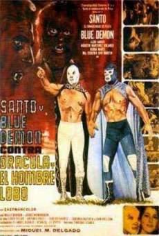 Santo y Blue Demon contra Drácula y el Hombre Lobo on-line gratuito