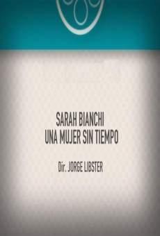 Ver película Sarah Bianchi: Una mujer sin tiempo