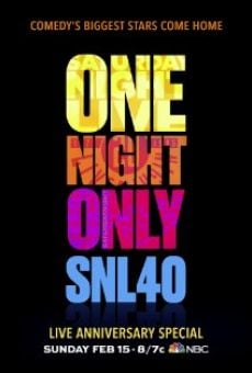 Saturday Night Live 40th Anniversary Special en ligne gratuit