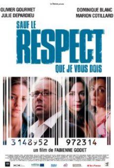 Ver película Sauf le respect que je vous dois