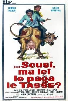Ver película Scusi, ma lei le paga le tasse?