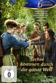 Ver película Sechse kommen durch die ganze Welt