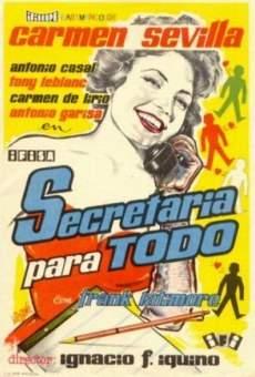 Ver película Secretaria para todo