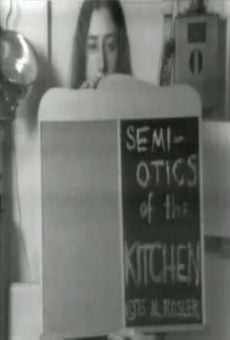 Ver película Semiotics of the Kitchen
