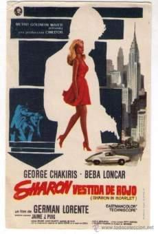 Sharon vestida de rojo online