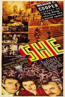 Ver película She, la diosa del fuego