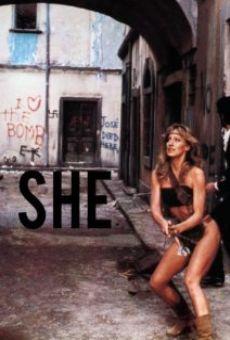 Ver película She