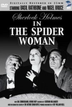 Ver película Sherlock Holmes y la mujer araña