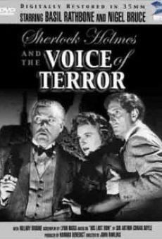 Sherlock Holmes and the Voice of Terror on-line gratuito