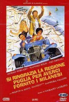 Ver película Si ringrazia la regione Puglia per averci fornito i milanesi