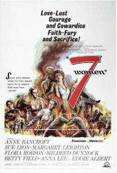 Ver película Siete mujeres