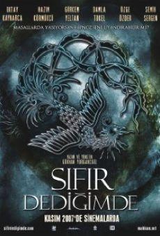 Ver película Sifir dedigimde