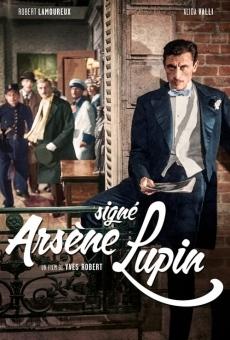 Ver película Signé Arsène Lupin