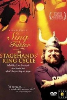 Ver película Sing Faster: The Stagehands' Ring Cycle