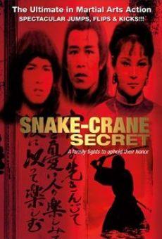 Ver película Snake Crane Secret