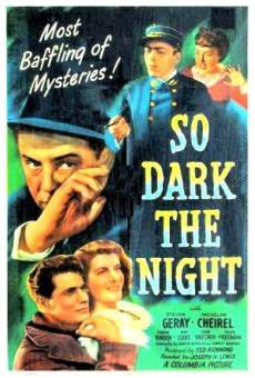 Ver película So Dark The Night