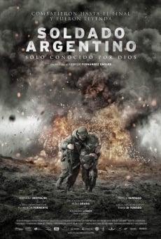 Soldado Argentino solo conocido por Dios online