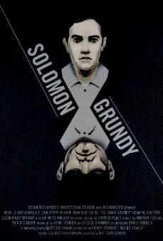 Watch Solomon Grundy online stream
