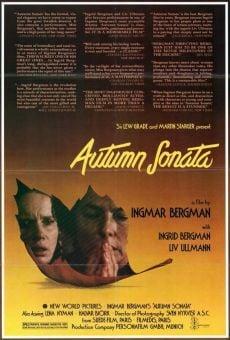 Ver película Sonata de otoño