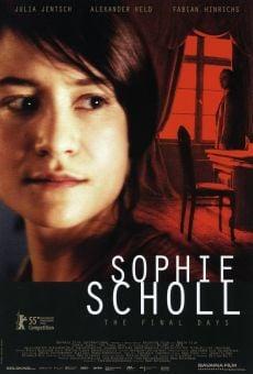 Ver película Sophie Scholl: Los últimos días