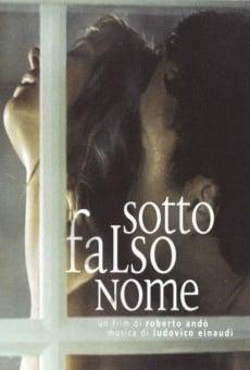 Ver película Sotto falso nome