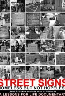 Watch Street Signs: Homeless But Not Hopeless online stream
