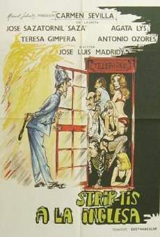 Ver película Strip-tease a la inglesa