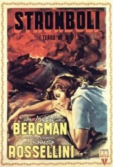 Película: Stromboli, tierra de Dios
