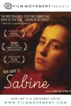 Su nombre es Sabine online