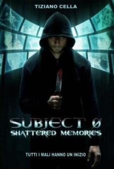 Ver película Subject 0: Shattered Memories