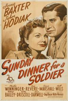 Sunday Dinner for a Soldier on-line gratuito