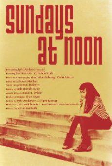 Sunday's at Noon