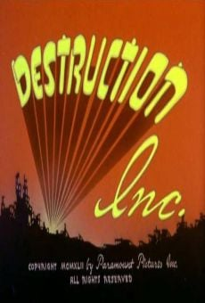 Famous Studios Superman: Destruction Inc. online streaming