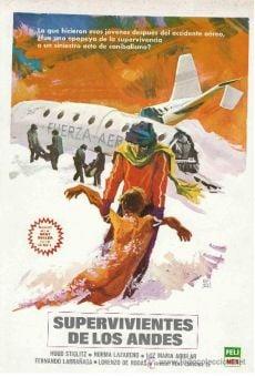 Ver película Supervivientes de los Andes
