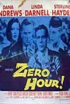 Ver película Suspense... hora cero