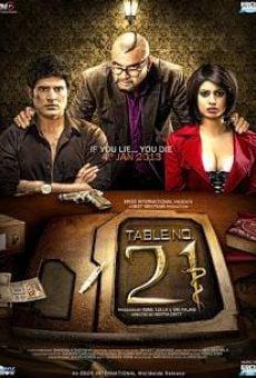 Table No.21 online kostenlos
