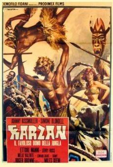 Película: Tarzán, el fabuloso hombre de la jungla